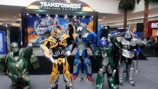 Transformers dancing The Touch