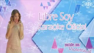 Libre Soy - Martina Stoessel (Karaoke Oficial)