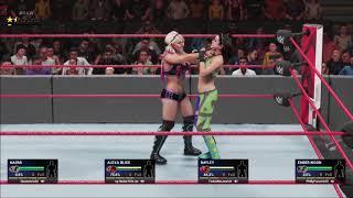 Alexa Bliss vs Bayley / Chaos Erupts! (NWF RAW Dublin September 2021)