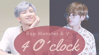 RAP MONSTER & V (BTS) - 4 O'CLOCK (네시) [Sub Español/Hangul/Rom]