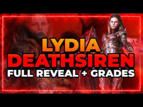 RAID Shadow Legends | FACTION WAR LEGENDARY REVEALED! LYDIA DEATHSIREN! FULL Kit and Reaction!