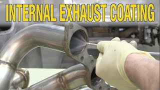 How to Paint Headers & Exhaust - Internal Exhaust Coating Tips for Protecting Exhaust -  Eastwood