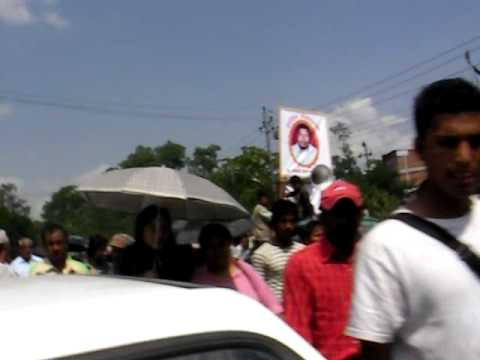 Kathmandu: Protest of Man Killed By Maoists