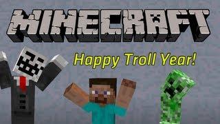 Happy Troll Year - Minecraft