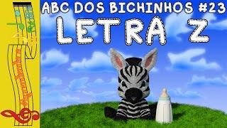 ABC DOS BICHINHOS #23 - LETRA Z