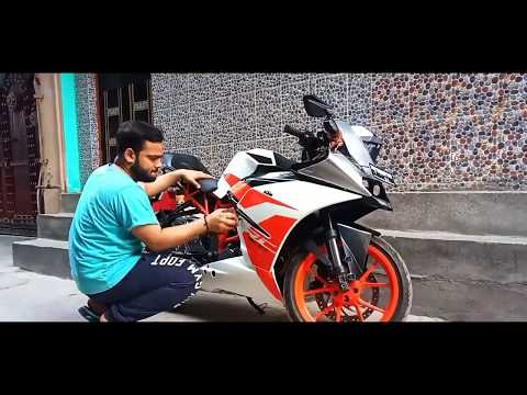 Download save FOAM WASHING | BRAND NEW KTM RC 200 - YouTube