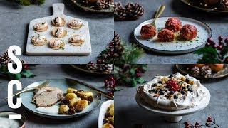 Il mio menù di Natale | 4 ricette facili e gustose 🎄