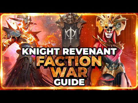 KNIGHT REV Faction Wars Guide! | Stage 21 TOUGHEST Thing I've Done in RAID!
