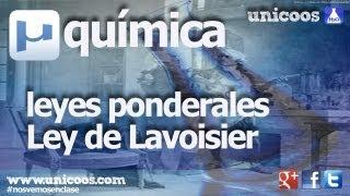Imagen en miniatura para Ley de Lavoisier o de conservación de la masa