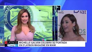 PORTADA DE D'Latinos Magazine EN MIAMI