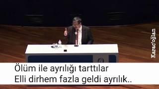 Hayati İnanç-Necip Fazıl kısakürek/Osman Yüksel Serdengeçti/Karac'oğlan şiir