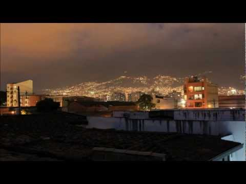 Sunset in Medellin Colombia / Timelapse/ 11.2011/ 1080pHD