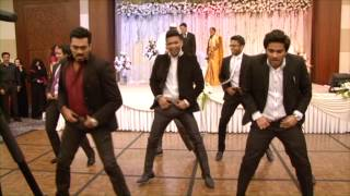 Nabil & Aysha Wedding Reception [Pistah Dance Mob]