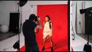 Ms Dynamite DJ Mag Cover Shoot - July 2010 [Premier Park Studios]
