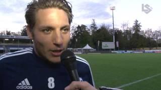 L'après match Schaffhouse-LS : Interview de Numa Lavanchy après FC Schaffhouse - FC Lausanne-Sport
