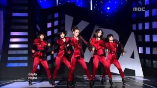 KARA - Lupin, 카라 - 루팡, Music Core 20100227