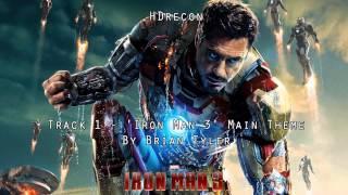 Iron Man 3 - Official Score #1 'Iron Man 3' Brian Tyler (Soundtrack) Main Theme OST (1080p HD)