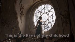 Beauty and the Beast 2017 - How Does a Moment Last Forever (Montmartre) LYRICS