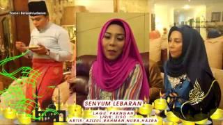 Teaser SENYUM LEBARAN - Azizul,Hazra,Rahman,Nura