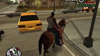 GTA SAN ANDREAS (GTA SA): Horse Riding Anywhere Cheat
