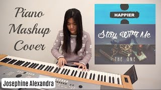 Happier/Stay With Me/The One - Piano Mashup Cover | Josephine Alexandra