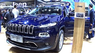 China made 2016, 2017 Jeep Cherokee is Ready for the Chinese car market