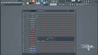 Young Thug - Drown ft. Travis Scott Instrumental (Fl Studio Remake)