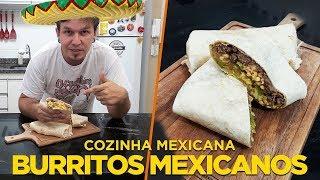Burritos de Carne - Cozinha Mexicana - OCSQN! #141
