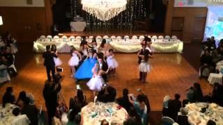 Debutant Clarisse Torres- Disney Waltz Music: So Close from Enchanted.