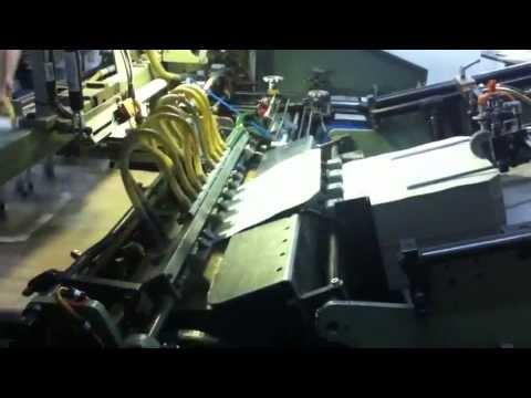 kolbus cronos 240 kapak taslama makinası