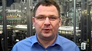 Live von der Brau 2010: Markus Engel von der Weinkellerei Raum ist begeistert