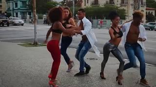 Lisandra y Elier con Bailando en Cuba