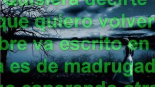 Noviembre sin ti Letra y cansion :) ;)