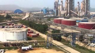 Dangote Cement plant in Obajana, Nigeria