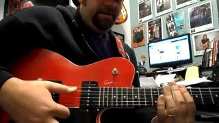 In My Time of Dying, Led Zeppelin Celebration Day Open G guitar lesson