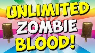 Black Ops 2 Origins Unlimited ZOMBIE BLOOD Glitch!