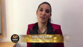 India Martínez estará en el Festival de Villa María (Argentina). ¿Y tú?