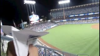 THROWING PAPER AIRPLANES OFF DODGER STADIUM