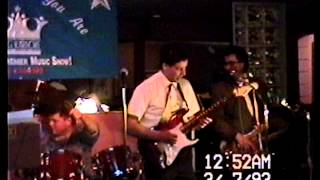 The Blues Had a Baby by Stained Glass with Kevin Barry at Dukes bar Highland Mich. March 6th 1993