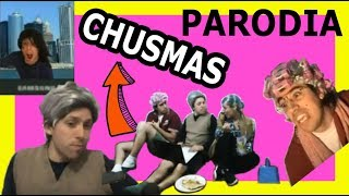 "Publicidad de Personal ""Chusmas"" (parodia NVT)"