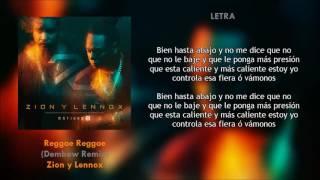 Reggae Reggae (Remix) (Letra) - Zion y Lennox + Descarga Mp3