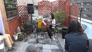 120428 곽푸른하늘 'Day Dreamer' cover - Rooftop Live@Cafe Unplugged