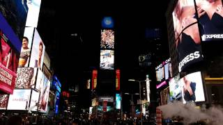 Times Square by night 4K - UltraHD New York City