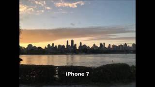 Sony Xperia XZ vs iPhone 7 Camera Photography