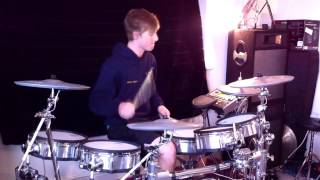 The Red Jumpsuit Apparatus - Damn Regret (DRUM COVER) *HD*