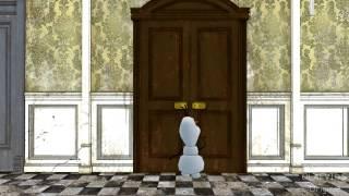 Olaf canta y si hacemos un muñeco
