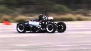 ECU Racing Formula SAE '09 Testing - Dr. Kevin Hayward driving