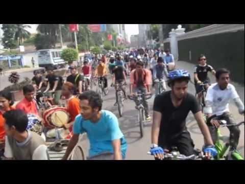 2nd Critical Mass, Dhaka – 28th Oct, 2011 (Highlights)
