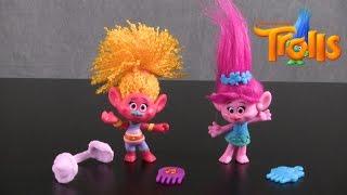 Trolls DJ Suki & Poppy Figures from Hasbro