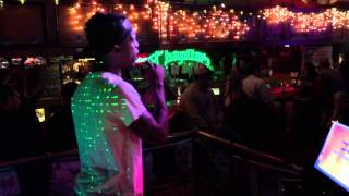 "Doug sings 2 Pac's ""Dear Mama"" at Chaplins Cafe - Roswell,"